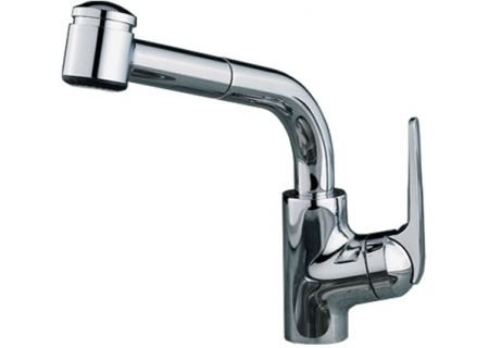 KWC Domo Series Pull Out Spray Splendure Stainless Steel Kitchen Faucet - 10.061.003.127