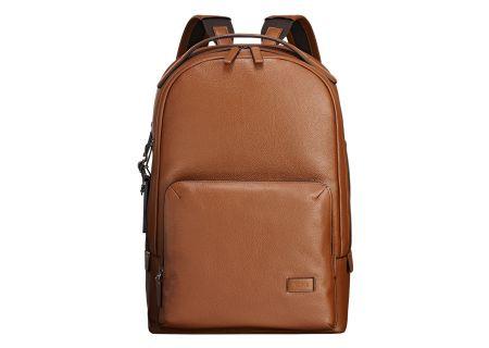 Tumi Harrison Umber Pebbled Webster Backpack - 100846-6645