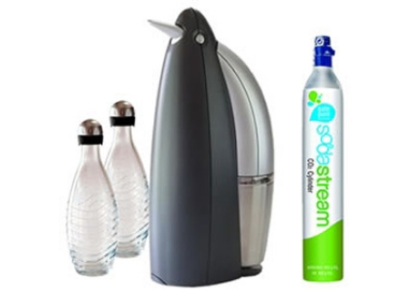 sodastream penguin starter kit soda maker 1016112010 abt. Black Bedroom Furniture Sets. Home Design Ideas
