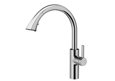 KWC Splendure Stainless Steel Saros Single Lever Kitchen Mixer Kitchen Faucet - 10.181.003.127
