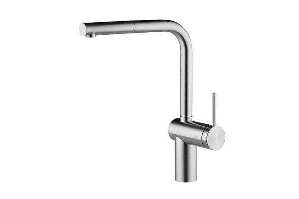 Large image of KWC Livello Stainless Steel Single Lever Faucet  - 10.231.103.700