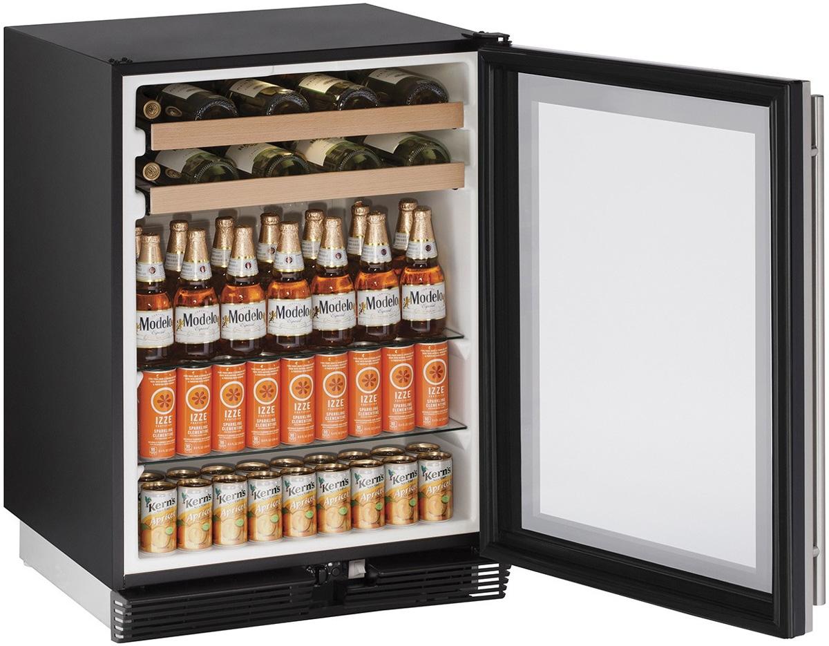 U Line Reversible Door Beverage Center U 1024bevs 00b