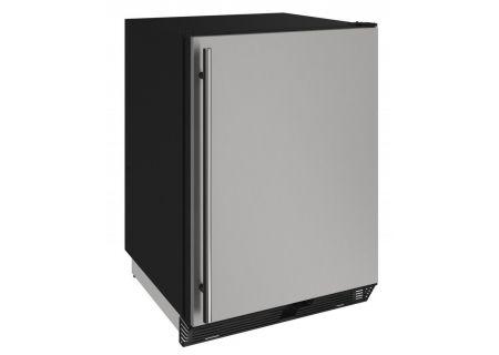 "U-Line 24"" Stainless Steel Compact Refrigerator  - U-1024RS-00A"