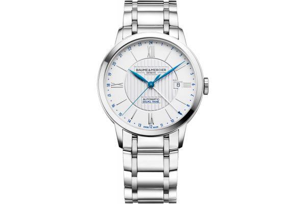 Baume & Mercier 40mm Classima Silver Dial Mens Watch - 10273