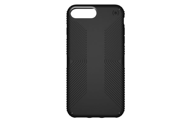 Large image of Speck Presidio Grip Black iPhone 8 / 7 Plus Case - 103122-1050
