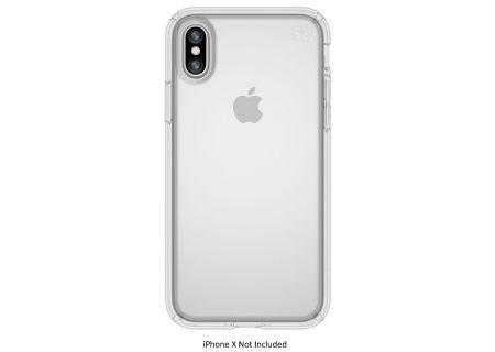 Speck Presidio Clear iPhone X Case - 103133-5085