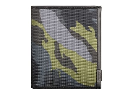 Tumi Alpha ID Lock Green Camo Passport Case - 103518-T619
