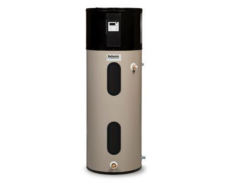 Reliance 50 Gallon Tall Hybrid Electric Heat Pump Water Heater 1050dhpht Ne