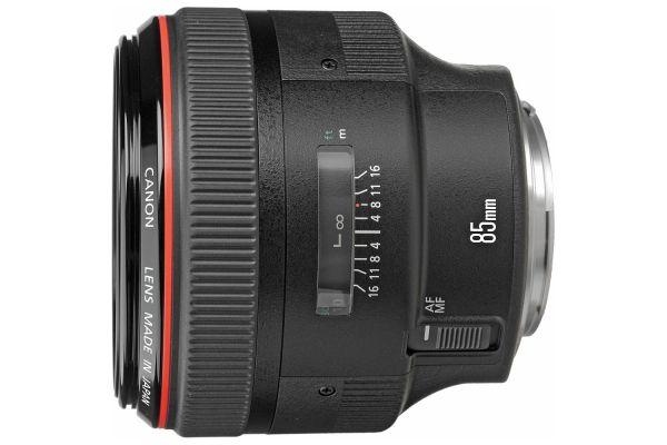 Large image of Canon EF 85mm f/1.2L II USM Camera Lens - 1056B002