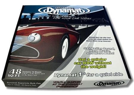 Dynamat - 10648 - Sound Dampening