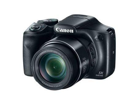 Canon PowerShot SX540HS Black Digital Camera - 1067C001