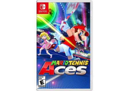 Nintendo Switch Mario Tennis Aces Video Game - 107729