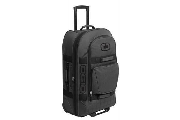 Large image of Ogio Black Pindot Terminal Travel Bag - 108226.317