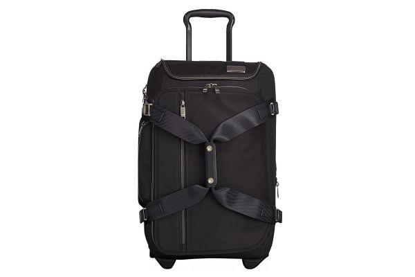 Tumi Merge Black Contrast Wheeled Duffel Carry-On - 1096087230