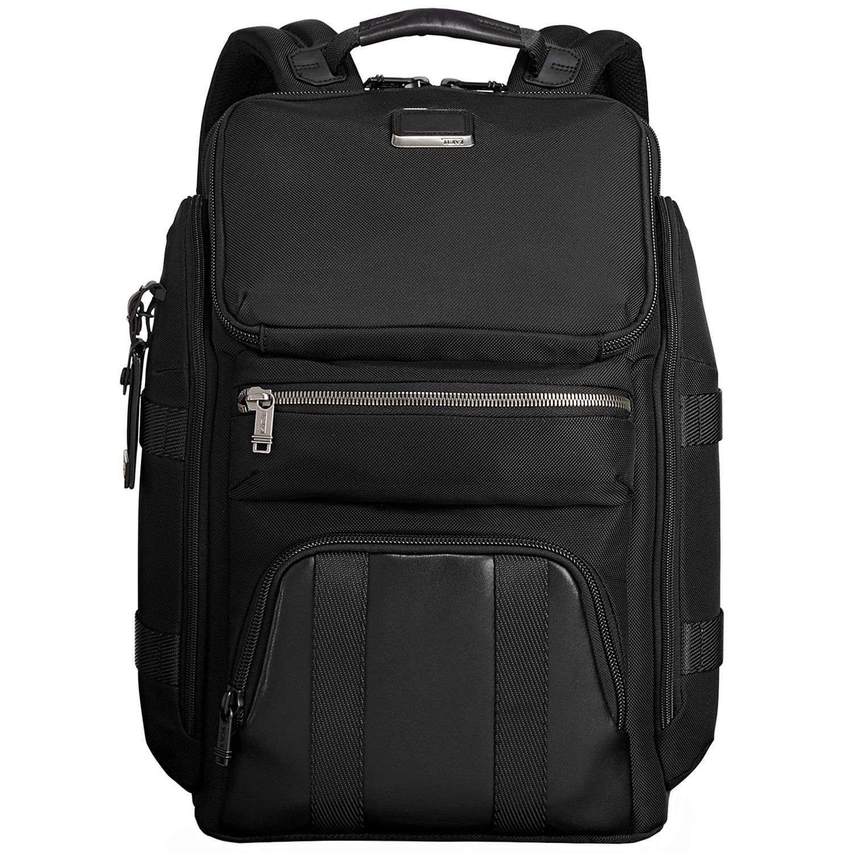 db144f212698 Tumi Alpha Bravo Black Tyndall Utility Backpack - 1097231041