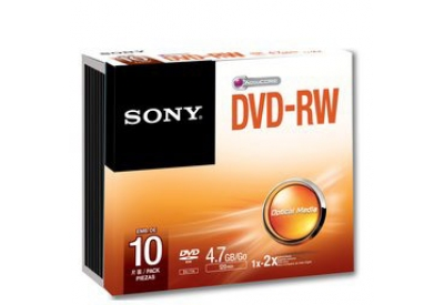 Sony - 10DMW47SS - Recordable DVD Discs