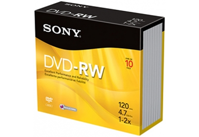 Sony - 10DMW47R2 - Recordable DVD Discs
