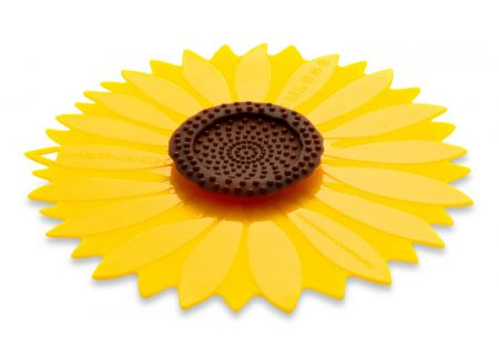 "Charles Viancin 8"" Sunflower Air-Tight Silicone Lid - 1103"
