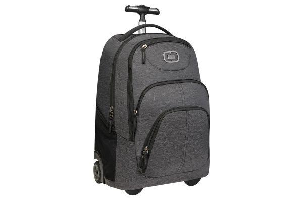 Large image of Ogio Dark Static Phantom Wheeled Travel Bag - 111082.437