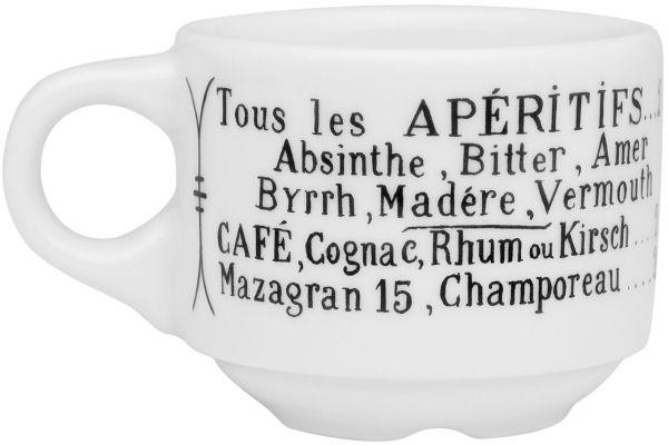 Large image of Pillivuyt Brasserie 3 Oz. Espresso Cup - 111310BR