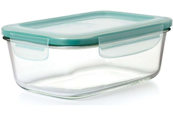 Large image of OXO Good Grips 3.5 Cup SNAP Glass Rectangle Container - 11174100