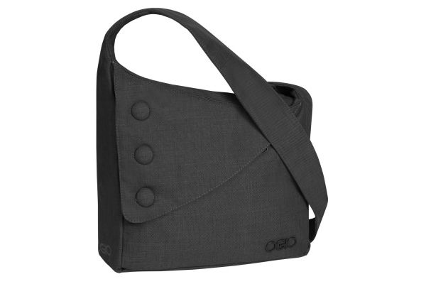Large image of Ogio Black Brooklyn Tablet Womens Purse - 114007.03