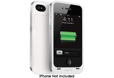 mophie - 1146JPAIP4WHT - External Battery Pack Chargers