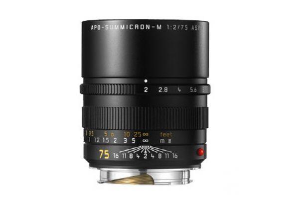 Leica APO-Summicron-M 75mm f/2 ASPH Lens For Leica M-Series Cameras  - 11637
