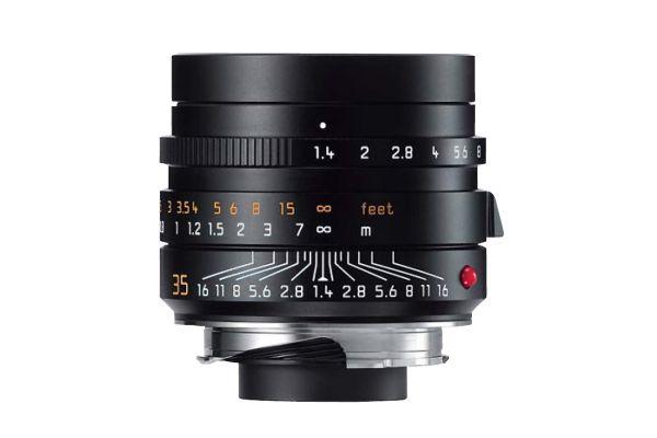 Leica Black Summilux-M 35mm f/1.4 ASPH Lens For Leica M-Series Cameras - 11663