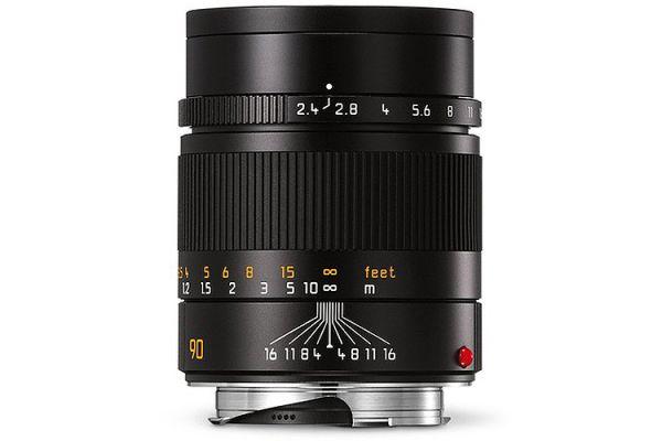 Leica Black Summarit-M 90mm f/2.4 Lens - 11684
