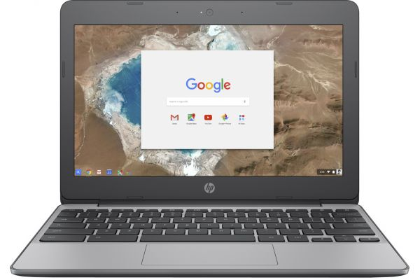 HP Chromebook Anodized Silver Laptop Computer - X7T64UA#ABA