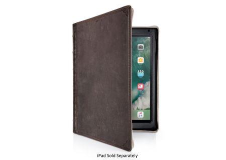 Twelve South Brown BookBook Hardback Leather Case for iPad 2017 - 121517