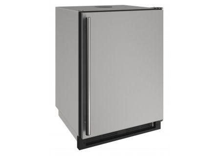 """U-Line 24"""" Stainless Steel Outdoor Keg Refrigerator  - U-1224KEGRSOD-00A"""