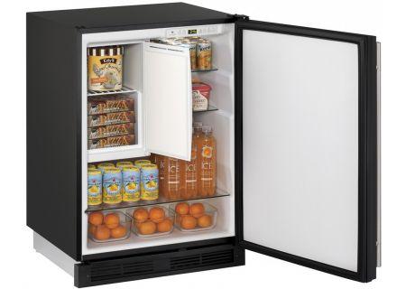 "U-Line 1224RF 24"" Integrated Undercounter Compact Combo Refrigerator - U-1224RFINT-00B"
