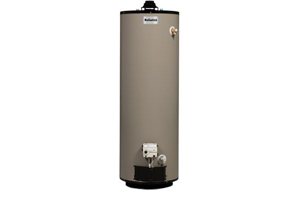 Large image of Reliance 40 Gallon Short Natural Gas Water Heater - 1240NACS