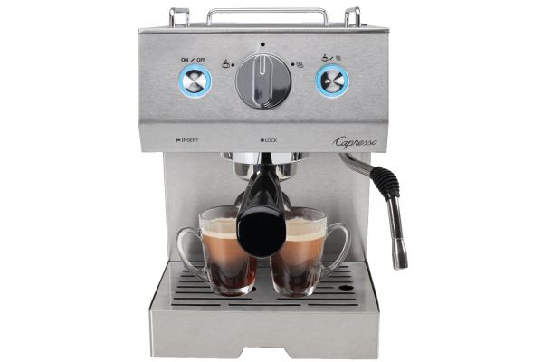 Large image of Capresso Stainless Steel Espresso Cafe Pro - 12505