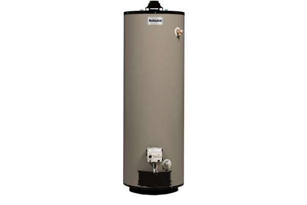 Reliance 50 Gallon Natural Gas Water Heater 1250nqct