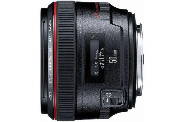 Large image of Canon EF 50mm f/1.2L USM Lens - 1257B002