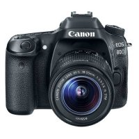 Canon EOS 80D Digtal SLR Camera with EF-S 18-55mm f/3.5-5.6 IS STM Kit
