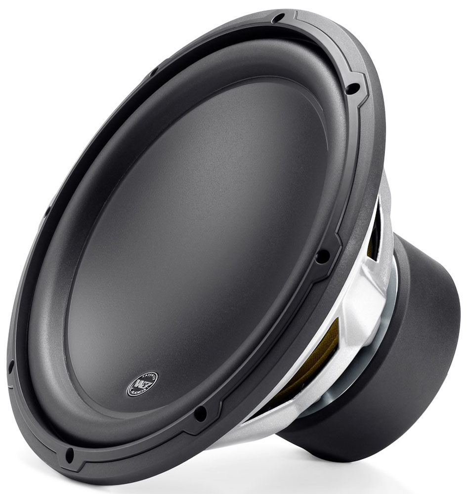 "JL Audio 12"" W3 Mobile Subwoofer Black - 12W3V3-2"