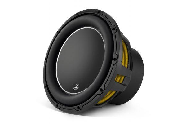 """Large image of JL Audio W6v3 12"""" Black Car Audio Subwoofer - 92141"""