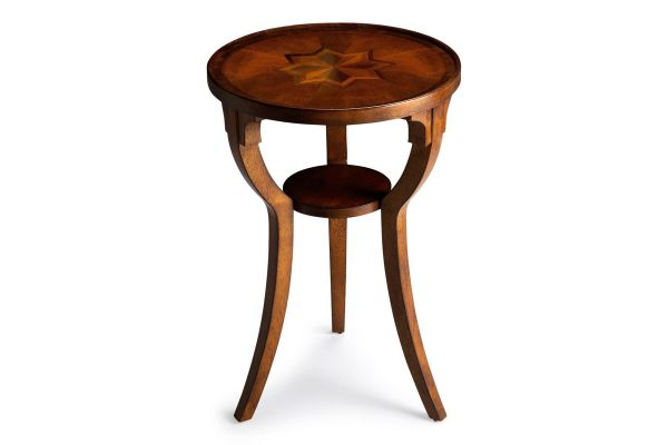 Large image of Butler Specialty Company Dalton Olive Ash Round Table - 1328101