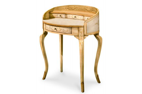 Butler Specialty Company Damosel Cream Handpainted Desk - 1335041