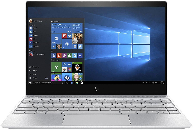 hp envy silver laptop computer 13 ad120nr
