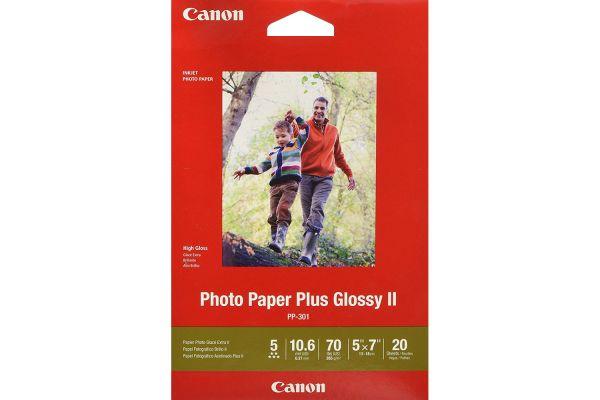"Canon PP-301 5"" x 7"" Photo Paper Plus Glossy II - 1432C002"