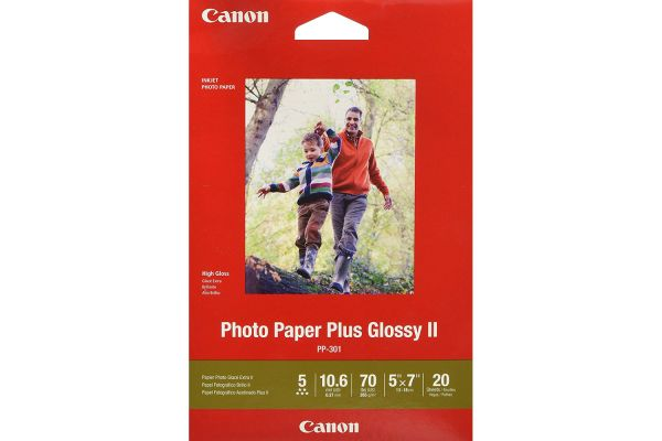 "Large image of Canon PP-301 5"" x 7"" Photo Paper Plus Glossy II - 1432C002"