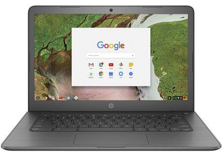 HP Chromebook Black Laptop Computer - 14-CA070NR