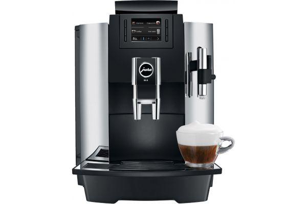 Large image of Jura WE8 Chrome Espresso Machine - 15145