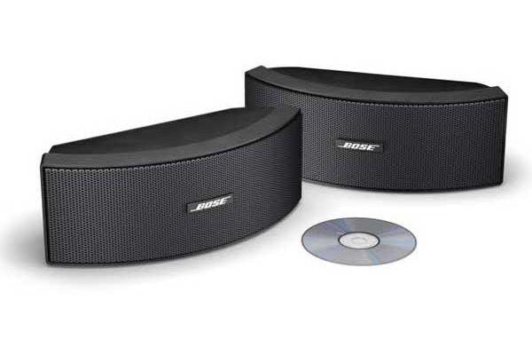 Large image of Bose 151 SE Enviromental Pair Speakers (Pair) - 151SEBK 34103