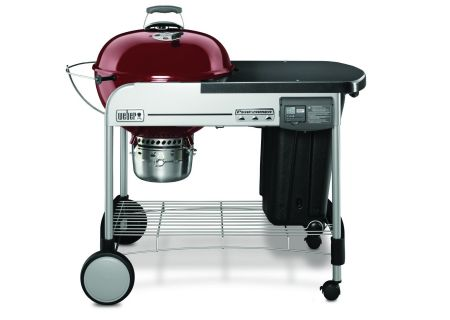 "Weber 22"" Crimson Performer Deluxe Charcoal Grill  - 15503001"